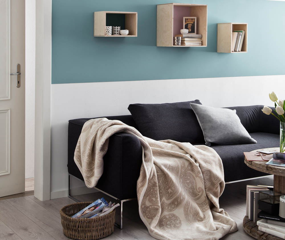 wohndecken betten beckord. Black Bedroom Furniture Sets. Home Design Ideas