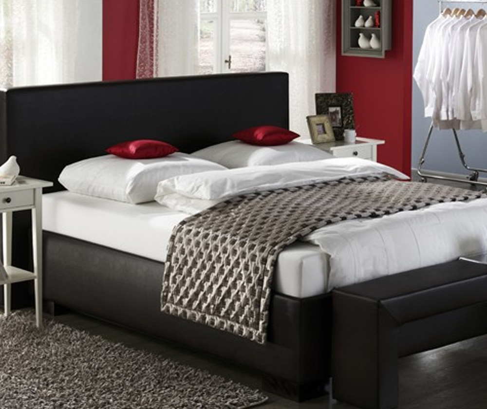 wohnform betten beckord. Black Bedroom Furniture Sets. Home Design Ideas